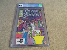 Silver Surfer #v3 #4 CGC 9.6 Marvel 1987 White Pages See My Store
