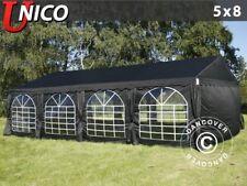 Dancover carpas para fiestas unico 5x8m negro