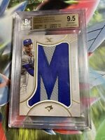 2020 Topps Definitive Collection Nameplate Patch 1/1 Marcus Stroman BGS 9.5 GEM