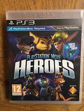Playstation mover héroes (sin Sellar) - PS3 UK release! nuevo!