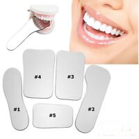 Dental Orthodontic Intraoral Photographic Mirrors Occusal Mouth Glass Reflector