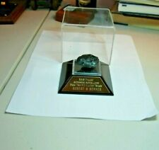 AUTHENTIC ANTHRACITE FROM RMS TITANIC 1912 MAIDEN VOYAGE - W/DISPLAY - COAL