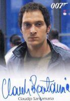 James Bond Heroes & Villains Claudio Santamaria as Carlos Autograph Card