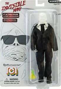 """INVISIBLE MAN Mego Action Figures, 8"""" (Limited Edition Collector'S Item) NEW!"""