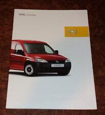 Catalogue OPEL COMBO de 2002