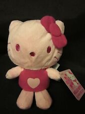 """HELLO KITTY SANRIO Valentine Hearts Pink New Special Issue Free US Ship '15 6.5"""""""