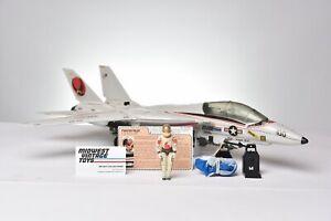 Vintage GI JOE VEHICLE 1983 SKYSTRIKER W/ PILOT ACE 100% Complete - HASBRO