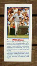 "Mark Grace 5""X11"" Photo Placard Booklet Cover Cut Mint Oddball"