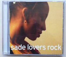 Sade - Lovers Rock  (CD, Nov-2000, Epic)