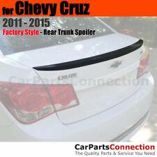 Painted Trunk Spoiler For 11 15 Chevy Cruz Ducktail Wa501q Black Graphite Met Fits Cruze