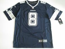 NWT Troy Aikman #8 Dallas Cowboys Game Throwback Player Jersey Blue