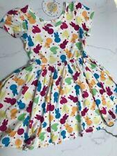 Chicks Bunny Polka Dots 2T, 3/4  Hugs Dress- Charlie's Project CLOSEOUT FINAL