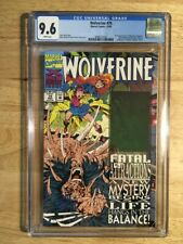 Wolverine #75 CGC 9.6 Marvel Comics Wolverine Hologram Wraparound Cover 11/93