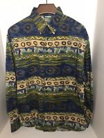 The Territory Ahead 2XL Long Sleeve Button Up Shirt Excellent Condition