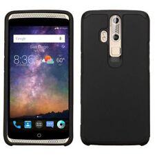 Étuis, housses et coques noirs en silicone, caoutchouc, gel pour téléphone mobile et assistant personnel (PDA) ZTE