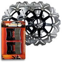 Honda Front High Performance Brake Disc Rotor + Pads CBR 600 F4 [1999-2000]