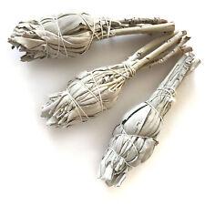 Weißer Salbei, 3 kleine Bündel (~11cm) aus Kalifornien, white sage smudge sticks