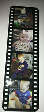 Personalised Photo Bookmark - film strip bookmark , collage book mark