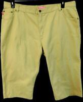 Woman within khaki natural fit women's plus size capri jeans 24W