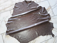LEDER TIP 32812-OB, Lederreste, 1 Lederhaut, kakaobraun nappa transfert