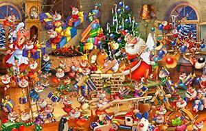 Piatnik 5379 Ruyer - Santa Claus Puzzle 1000-Piece