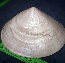 Vintage Chinese Vietnamese Asian Straw Bamboo Hat Garden,Fishing & Decoration