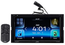 "JVC KW-M730BT 6.8"" In-Dash Car Bluetooth Receiver Android, Carplay, Dual USB, EQ"