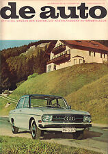 MAGAZINE DE AUTO 1967 nr. 48 - AUDI/SAAB 99/DATSUN 1000 SUNNY