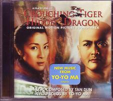 Crouching Tiger Hidden Dragon Soundtrack CD Tan Dun Yo Yo Ma