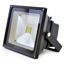 Lloytron L8513 Long Life 30w LED Floodlight Mains Night Lamp Security Black New