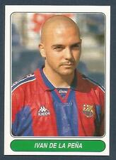 PANINI EUROPEAN FOOTBALL STARS 1997- #057-BARCELONA & SPAIN U23-IVAN DE LA PENA
