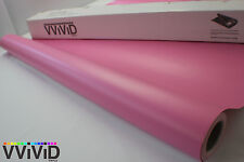 Matte Pink Air Release 5ftx40ft Vinyl Wrap Decal for Car Bike Boat MPI3M