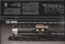 EZRA BROOKS CASEY JONES LOCOMOTIVE BOURBON DECANTER Empty Collectible MI382