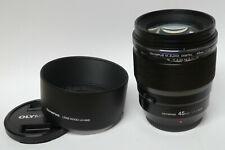 Olympus M.Zuiko Digital 1,2 / 45 mm  PRO  Objektiv schwarz gebraucht in ovp