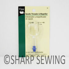 DRITZ NEEDLE THREADER WITH MAGNIFING GLASS #53