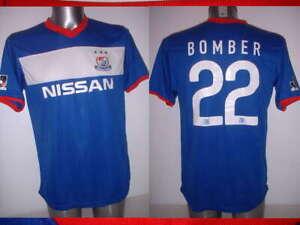 Yokohama F Marinos Medium 22 Bomber Shirt Jersey Football Soccer Japan Official