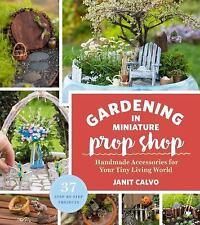La tienda de jardinería en miniatura Prop: Hecho a Mano Accesorios para su pequeño Living