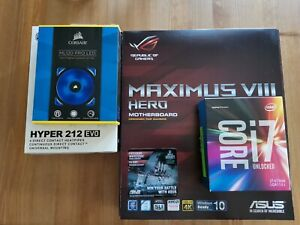 Intel Core i7-6700K + ASUS Maximus VIII Hero + CPU-Kühler Upgrade Kit