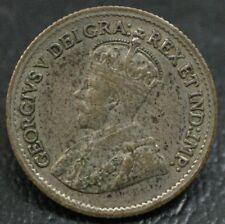 1920 Canada 5 Cents ~ Nice Original Coin ~ No Problems