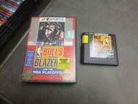 Bulls vs. Blazers and the NBA Playoffs (Sega Genesis, 1993)