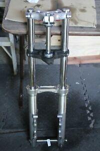 39mm dual disc front end + axle + GMA fork brace Harley FXRP FXLR FXRD EPS23948