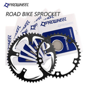 PROWHEEL ROAD Bike Chainring 110BCD 130BCD 34/50T 39//53T Sprocket 9/10/11 Speed