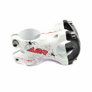 ABR 3D Alloy Mountain MTB Road Bike Bicycle Cycling 31.8 x 50mm ±5° Stem - White
