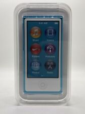 Apple iPod nano 7. 7G Generation Hell-Blau Light-Blue (16GB) Sealed NEW NEU RAR