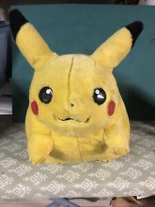 """1999 Hasbro TOMY large 16"""" Pokémon Pikachu Jumbo Plush Nintendo!"""