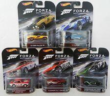 2016 Hot Wheels *FORZA MOTORSPORTS* 5 CAR SET *ALFA ROMEO CAMARO FORD GT FALCON*