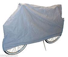 Funda para Cubrir Cubre Bicicleta y Moto Loneta Impermeable Polvo y Humedad 3248