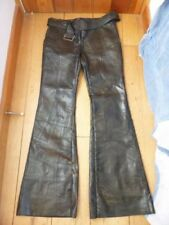 Black Leather Jeans for Women