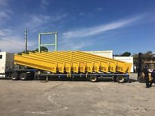 30 Yd Roll off containers/dumpsters, reinforced gates & anticorrosive protection