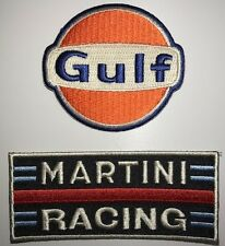BRODERIE GULF & MARTINI RACING ECUSSON BADGE
